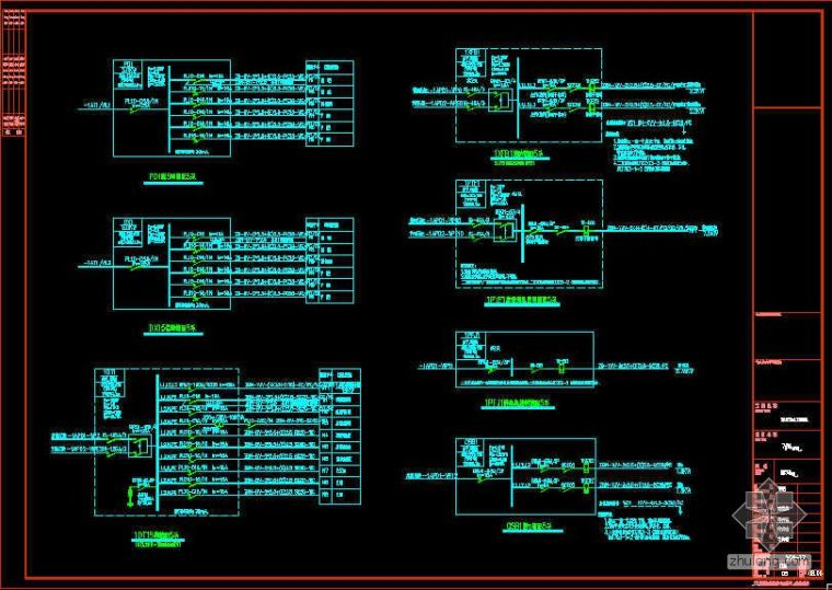 江苏连云港市某住宅工程安装工程量计算书(附CAD图纸)