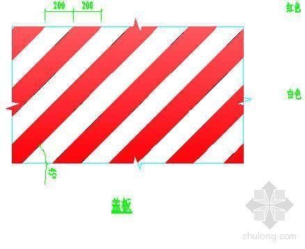 防护栏杆、挡脚板、盖板示意图