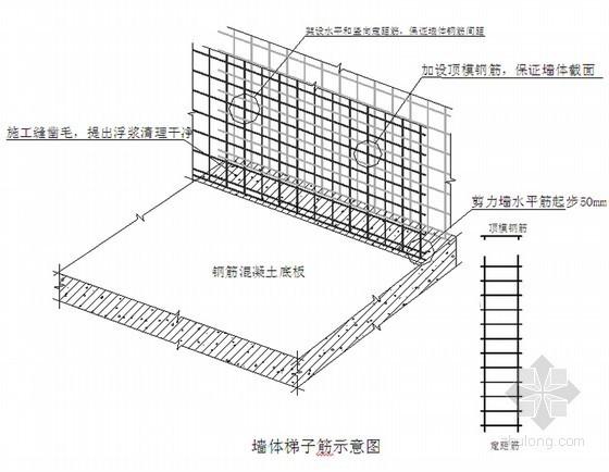混合结构办公住宿楼工程钢筋工程施工方案