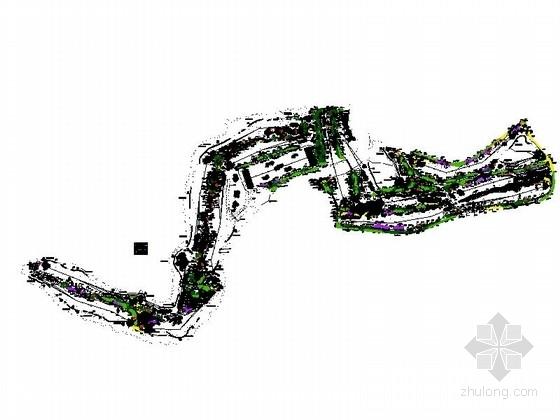 [无锡]绿地公园景观绿化施工图