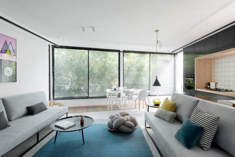 绿植环绕打造明亮舒适的居家氛围