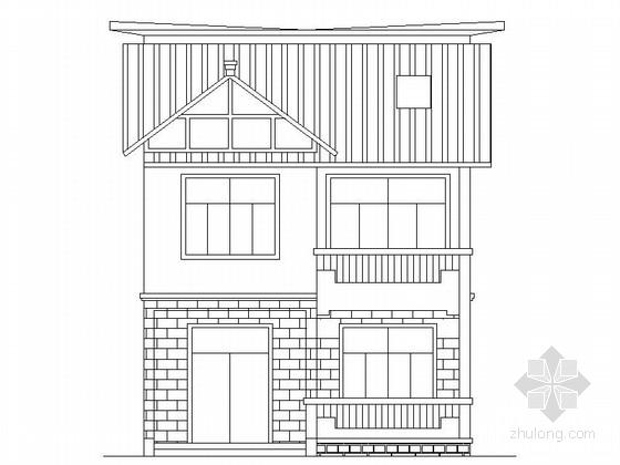 某二层农村复式别墅建筑施工图