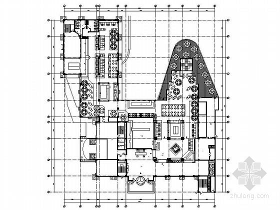 [山东]某资源局高档西餐厅设计施工图