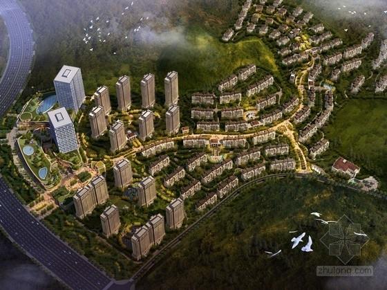 [江苏]生态型城市规划及单体设计方案文本(知名地产)