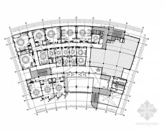 大型食堂强电系统施工图纸