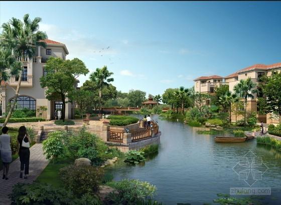 [云南]别墅酒店区园林景观工程投标文件