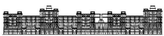 无锡长江国际花园青春公寓59号楼建筑施工图