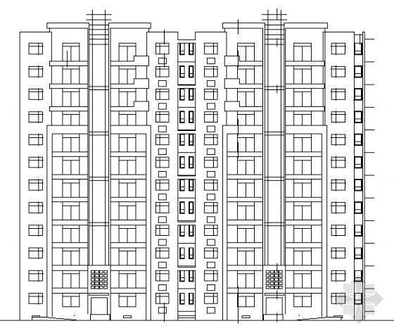 某住宅楼建筑设计方案