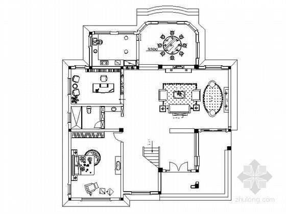 某双层别墅设计方案图