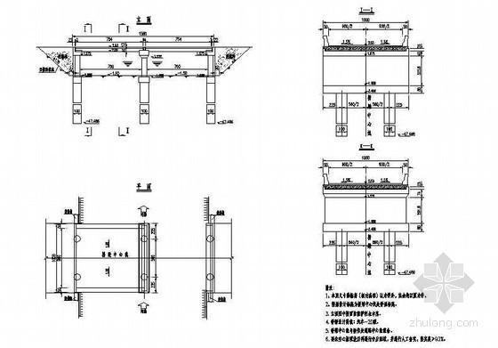 现浇空心板桥梁全套施工设计图纸