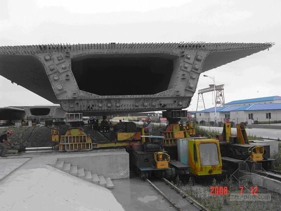 青岛海湾大桥60米箱梁的架设施工技术