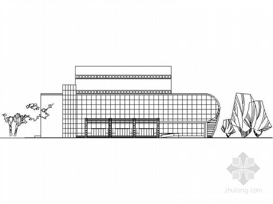 [课程设计]某1200座影剧院建筑方案设计(含效果图)
