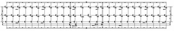 框架结构中学体育场看台结构施工图