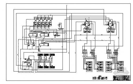 氨冷库系统原理图