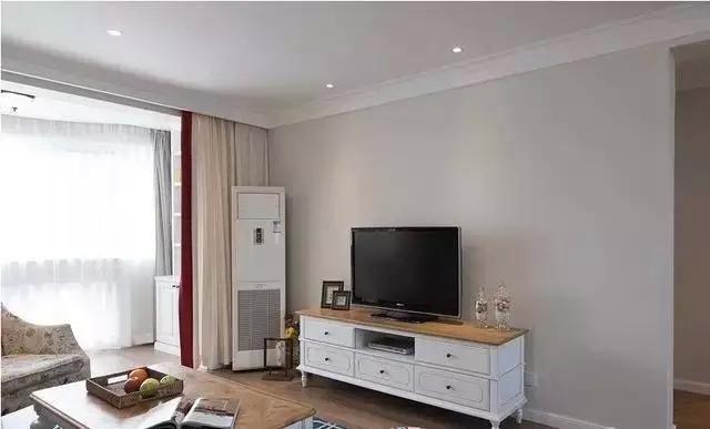 时尚客厅装修,现代简约风格客厅电视机柜效果图_2