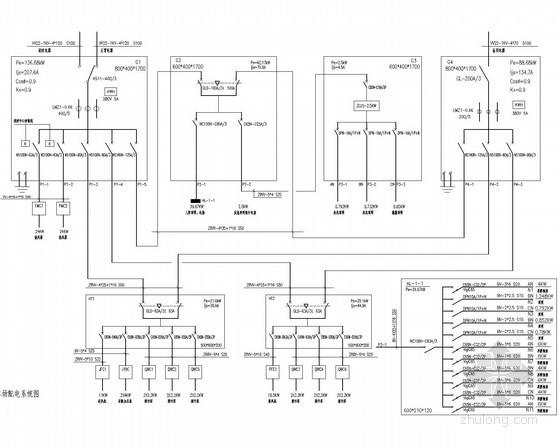 十二层住宅强弱电施工图纸(含停车库)