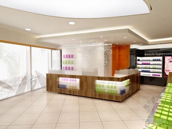 化妆品专卖店3D模型下载