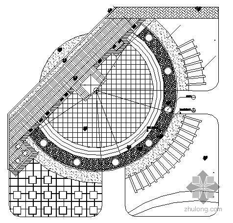 河北度假村入口广场景观设计