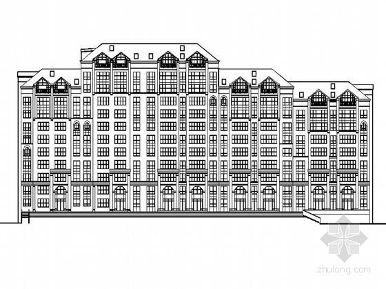 [长春]某花园住宅小区二期单体住宅楼方案(1栋)