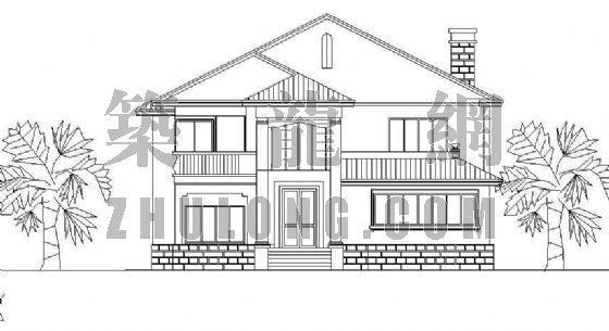 经典小型别墅方案系列9