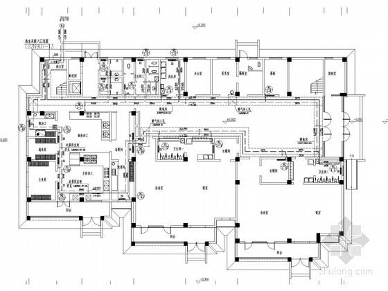 [山东]多层教育建筑采暖通风系统设计施工图