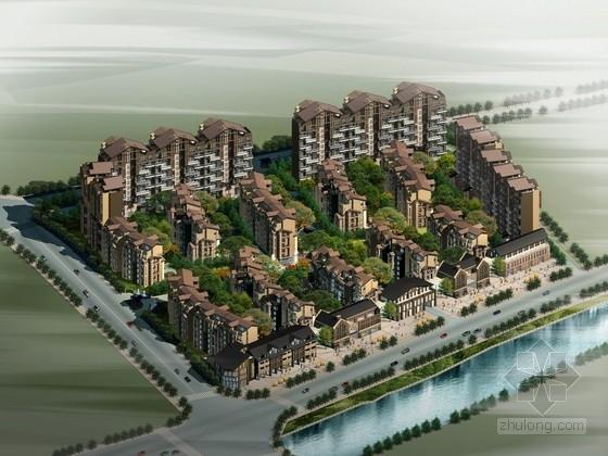 [四川]中式风格住宅区规划及单体设计方案文本(含cad,资料齐全,附图丰富)