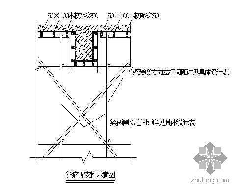 安徽某广电中心高支模施工方案(大跨度 计算书)