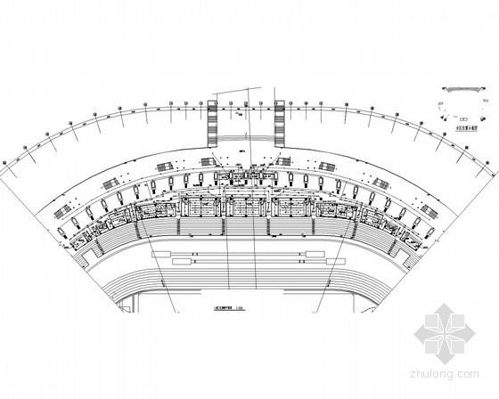 [西藏]群众文化体育中心体育场电气全套施工图(甲级院设计)
