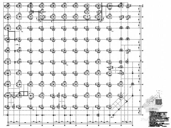 [河南]地上四层框架结构G区商业区结构施工图