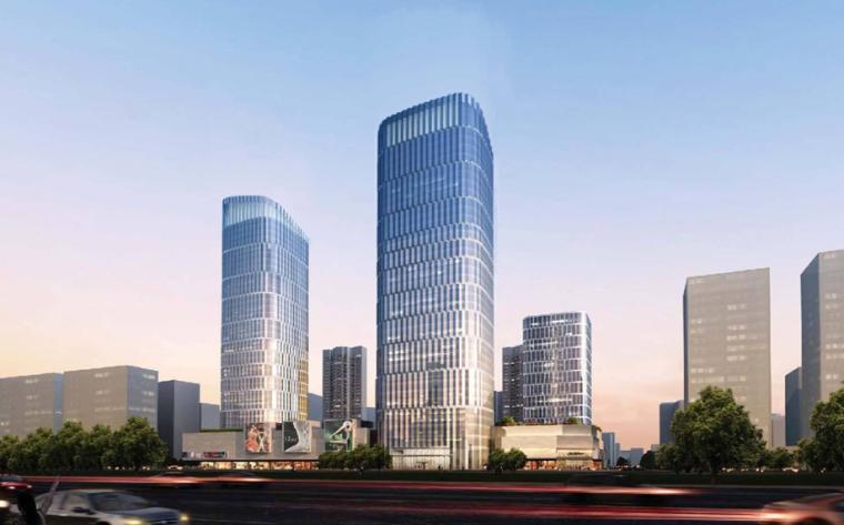 [浙江]杭州市拱墅区大关路,长乐路城市综合体项目