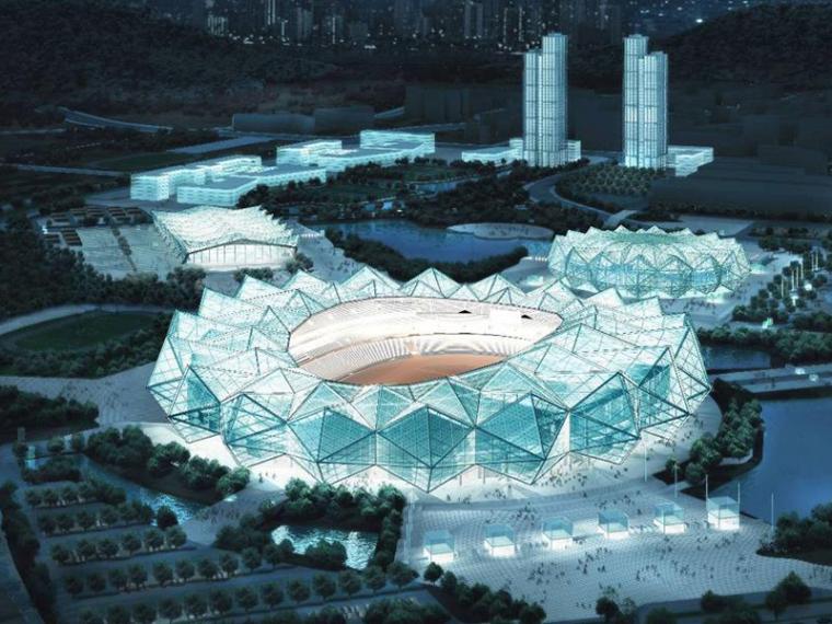 [深圳]世界大学生运动会体育中心建筑设计方案文本