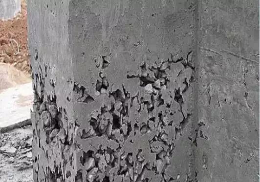 技术贴!混凝土施工中8大畸形现象及处理办法