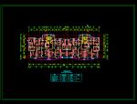 方案某小高层板式住宅户型图(120、140、170平方米)