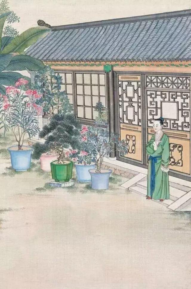 宋词里的庭院,古人的生活美学_18