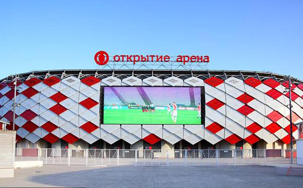 2018年俄罗斯世界杯举办球场之一 斯巴达克体育场