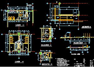[广东]某大学综合楼建筑施工图(含行政办公楼)图纸