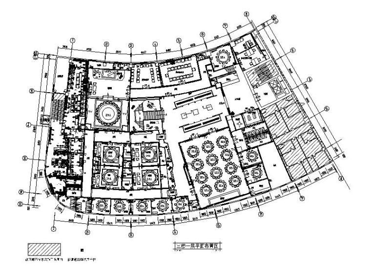 [北京]连锁中餐厅设计CAD施工图(含实景图)