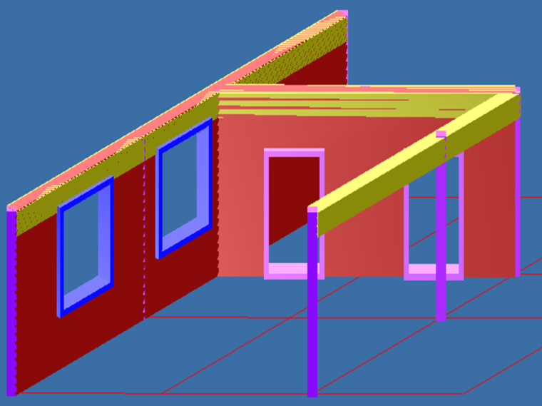 建筑工程量计算规则木结构工程