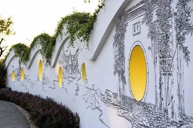 景观墙,怎么可以这么美!_46