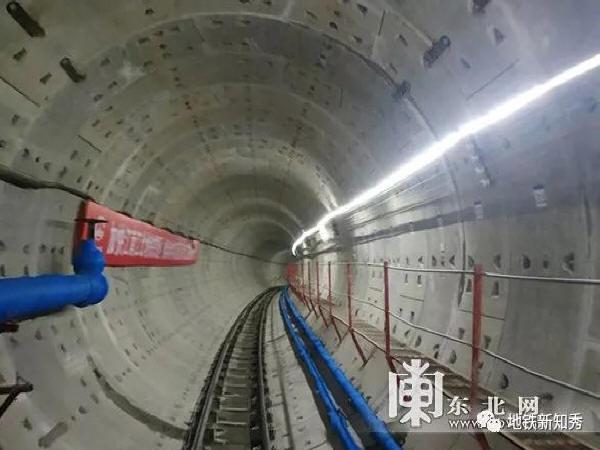 哈尔滨地铁2号线过江隧道全线贯通!