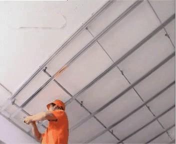 吊顶施工规范做法图解