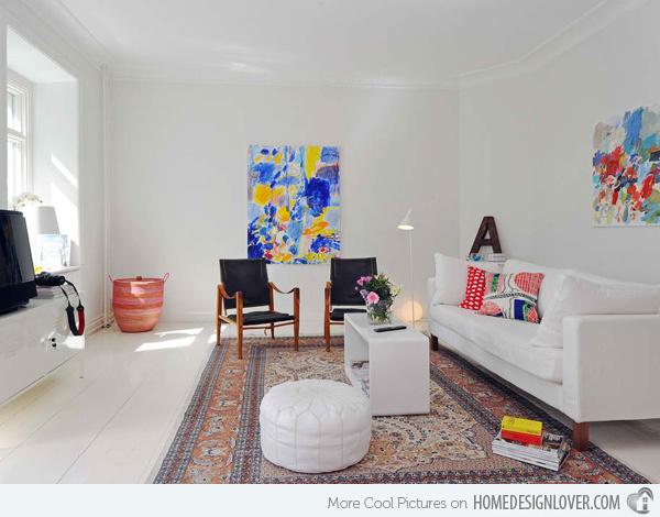 20个时尚的客厅装修设计案例_9
