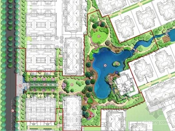 [重庆]法式风格样板区景观规划设计方案