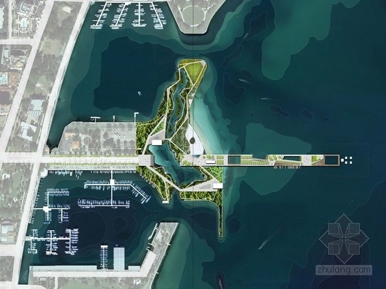 [圣彼得堡]特色滨水码头景观设计方案(英文方案文本)