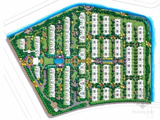 [杭州]高档连排别墅景观规划方案(国外知名设计公司)