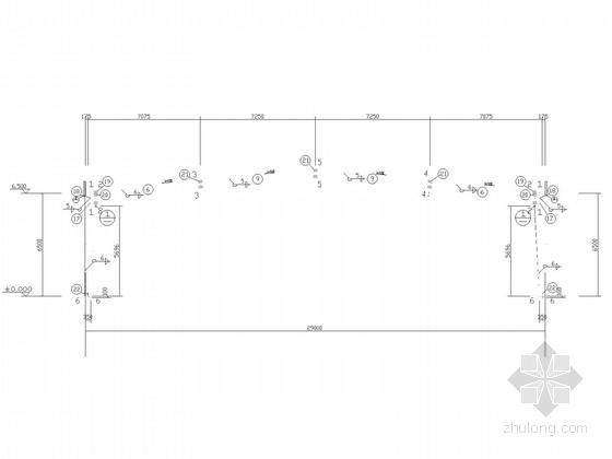 [湖北]单层物流仓库门式刚架结构施工图