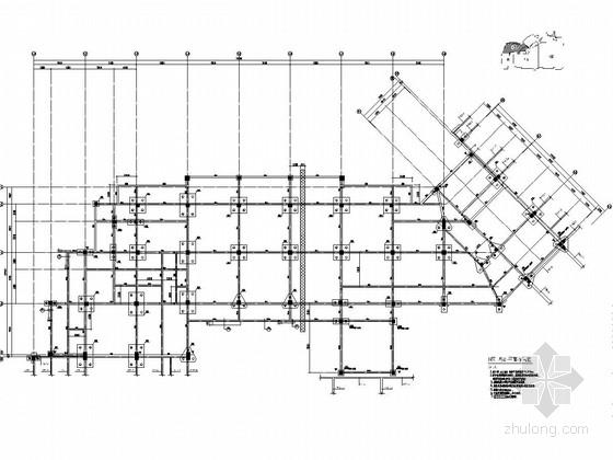 [河南]多层建筑PHC管桩及基础工程施工图