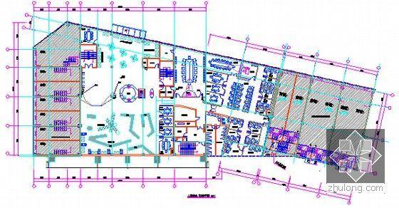 [广东]2015年广场文化活动中心装修工程预算书(附施工图纸)-11三层给排水、消火栓平面图