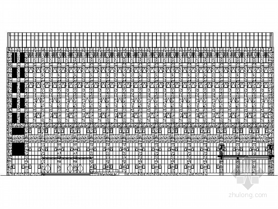 [江苏]某市政便民服务中心建筑施工图(含效果图)