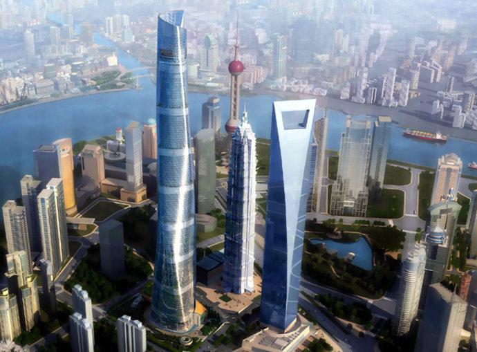 上海中心大廈全套資料下載(圖紙、設計、施工、勘察、幕墻等)